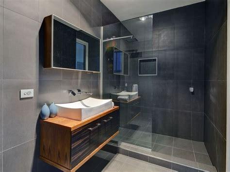 Modern Bathroom Ensuite by En Suite Sleek Modern Glass Wall To Wall Shower