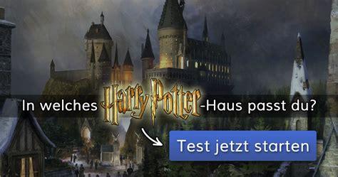 ᐅ In Welches Harrypotterhaus Passt Du?