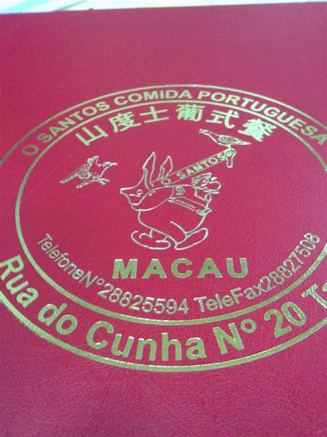 santos cuisine o santos comida portuguesa in taipa macau candid cuisine
