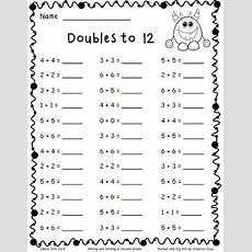 Adding Doubles And A Freebie (smiling And Shining In Second Grade)  Second Grade, Student And It Is