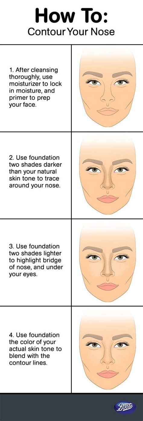 contourhighlight nose contouring hacks tips nose makeup nose contouring contour makeup