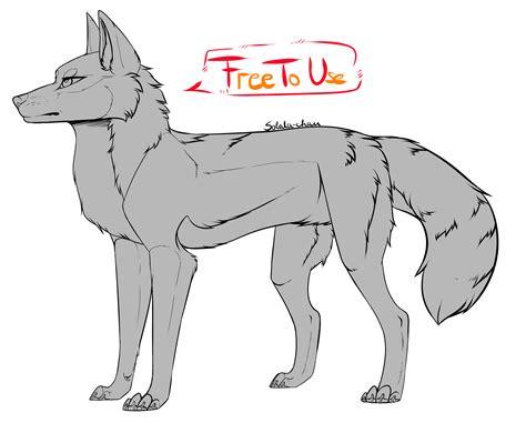 Ftu Wolf Base By Thesatonic On Deviantart