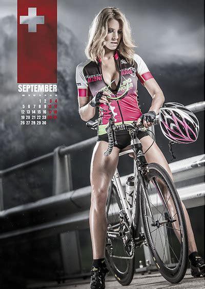 pronto il calendario sexy cycling mtb vcocom mountain bike