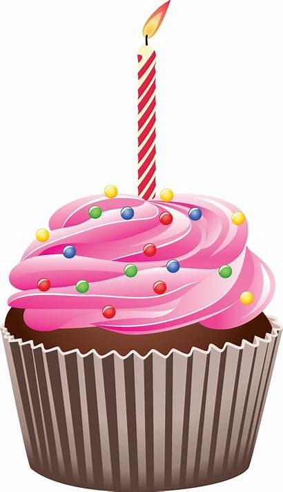 Cupcake Clipart Transparent Birthday Clip