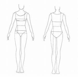 Fashion Design Template Female