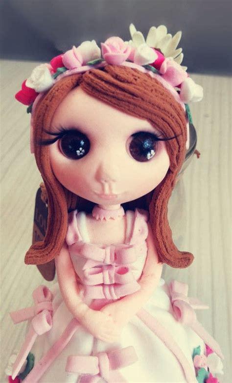 valentine handmade clay dolls  doll accessory home