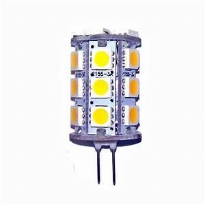 Ampoule G4 Led : ampoule led g4 24 leds 5050 blanc chaud led effect ~ Edinachiropracticcenter.com Idées de Décoration