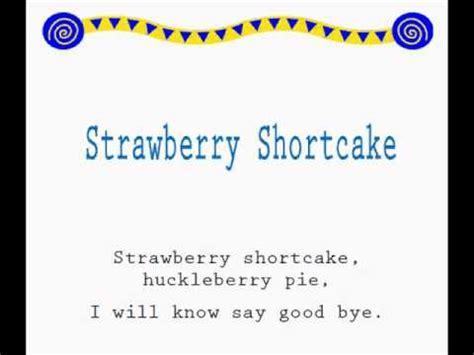 jump rope songs strawberry shortcake jump rope songs youtube