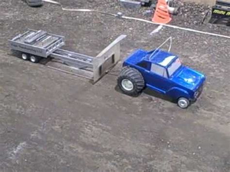 Rc Trucks Pulling Boats On Trailers by Rc Truck Pulls Boat On Trailer Doovi