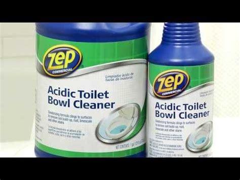 Zep Bathroom Cleaner Ingredients by Toilet Bowl Cleaner That Makes Toilet Cleaning Easy