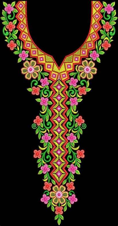 Neck Embroidery Latest Textile Patterns Texon Wilcom