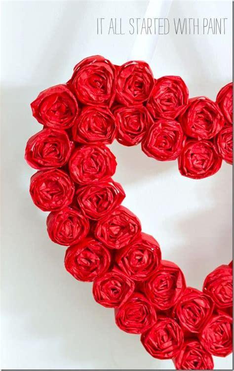 diy valentines day wreaths