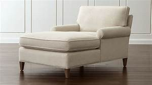 Montclair Chaise Lounge Crate And Barrel