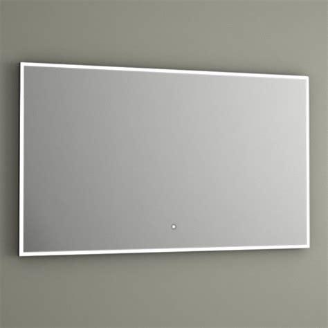 Miroir Lumineux Led Salle De Bain, Antibuée, 100x60 Cm
