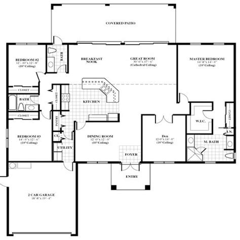 floor plans for 20x60 house house floor plans with pictures jupiter farms the oak model single family home floor plans