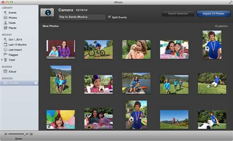 how to import photos from iphone to iphoto using a with your mac apple support