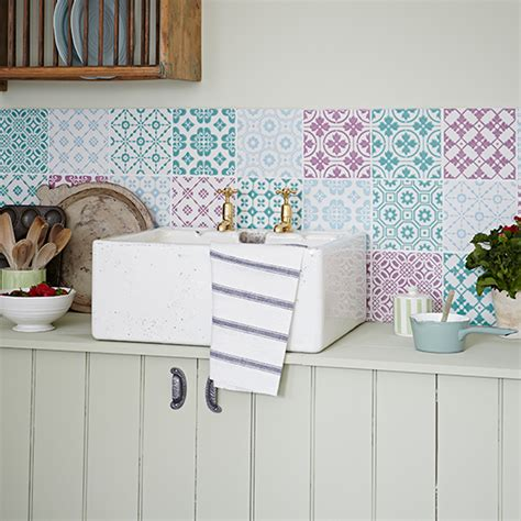 shabby chic kitchen wall tiles 7 things you need for a shabby chic kitchen ideal home 7910
