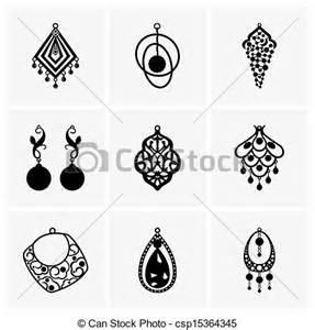 where to buy clip on earrings eps vector de pendientes conjunto pendientes