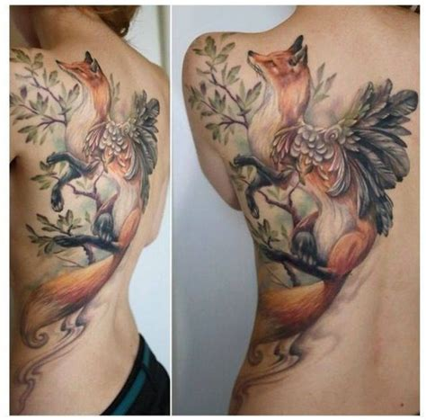 Tatouage De Renard Tattoo 06 Inkage