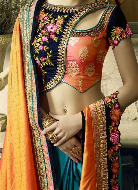 indian latest fabulous saree blouse designs  women