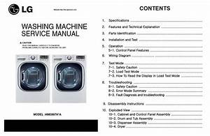 Lg Wm3997hwa Wm3997hva Washer Dryer Combo Service Manual