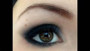 Maquillage Yeux Tuto : smokey eye oeil charbonneux noir youtube ~ Nature-et-papiers.com Idées de Décoration