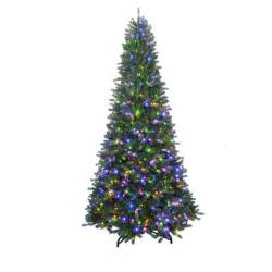 home accents holiday 7 ft to 10 ft led pre lit adjustable rising artificial spruce christmas