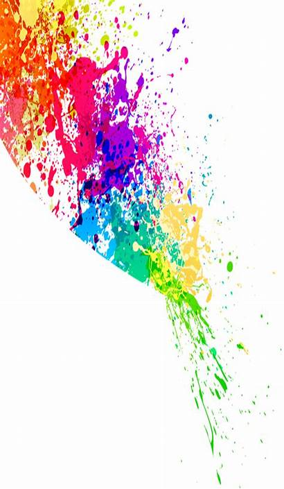 Splatter Paint Splash Clipart Splats Colorful Colourful