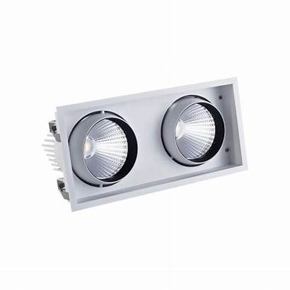 Twin Downlight Led Recessed Alternative Ar111 Retail