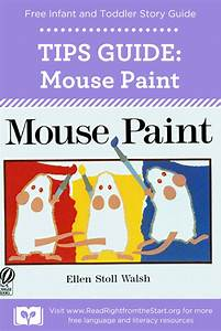 Free Story Guide For The Book  U201cmouse Paint U201d By Ellen Stoll
