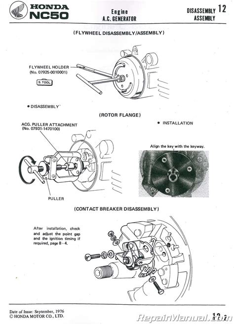Honda Express Scooter Shop Manual