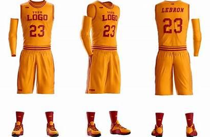Basketball Uniform Template Templates Mockup Sports Dunk