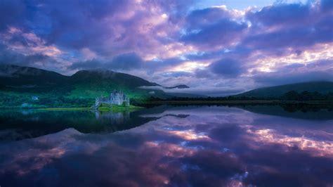 Ruins On The Loch Wallpaperhub