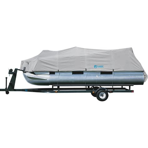 Hurricane Deck Boat Cover by Product Classic Accessories Hurricane Pontoon Boat Cover