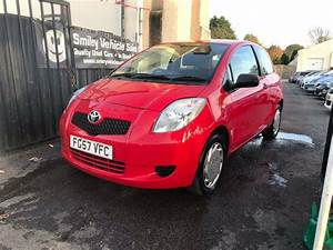 Toyota Yaris 1 Litre Petrol Manual 3 Door Hatchback Red