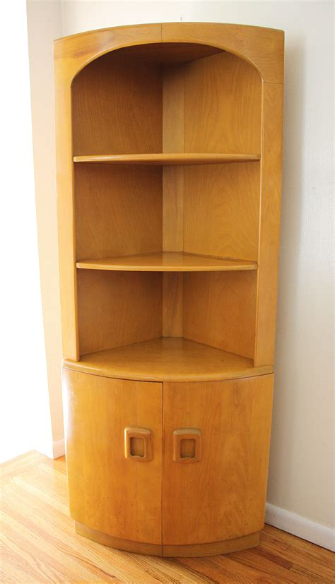 Tall Corner Kitchen Pantry Cabinet Freestanding With Doors