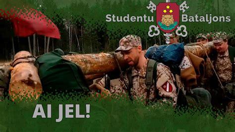 Ai Jel Manu Vieglu Prātu - Zemessardzes Studentu Bataljons ...