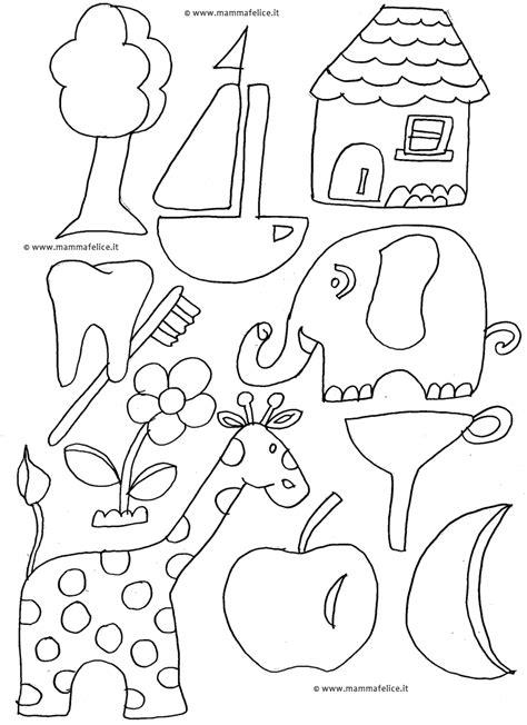 alfabeto da colorare mamma felice