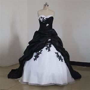 black and white gothic wedding dresses 2017 ball gown With gothic corset wedding dresses