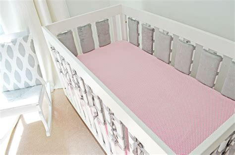 bumpers for cribs oliver b the ventilated crib bumper