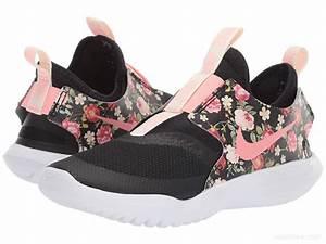 Nike Kids Flex Runner Little Kid Black Pink Tint Shoes