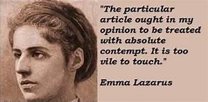 Emma lazarus fa... Emma Lazarus Famous Quotes