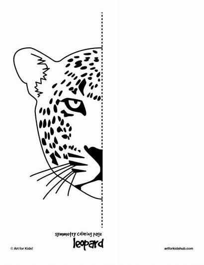 Symmetry Drawing Worksheets Coloring Worksheet Pages Half