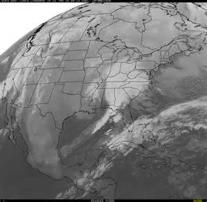 USA Cloud Cover Satellite Current