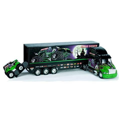 monster jam toys trucks grave digger monster hauler