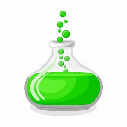 Potion Magic Bottle Clipart Pozione Magica Groen