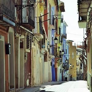 Una Calle De Muchos Colores  Villajoyosa  Spain