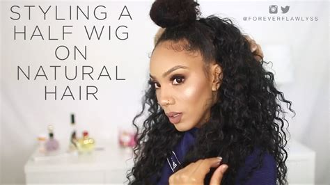 How To Flawlessly Style A Half Wig
