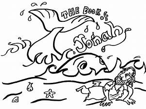 Jonah And The Whale Coloring Pages Free Printable