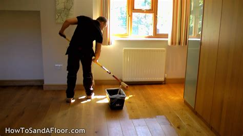 Refinishing Parquet Floors Diy by How To Refinish A Wood Floor Without Sanding Youtube